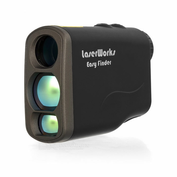 LaserWorks 6X 21mm 5~1000m Laser Rangefinder &amp; Speed Detector - BlackLaser Rangefinder, Electronic Distance Meter<br>Form ColorBlackModelN/AQuantity1 DX.PCM.Model.AttributeModel.UnitMaterialABSDetection Range5~1000mMeasuring Accuracy+/-1mPowered ByOthers,3VCR2Battery included or notYesEnglish Manual / SpecYesOther FeaturesObject distance: 21mm; Magnification: 6X; Viewing angle: 7.2; Exit pupil: 16mm; Speed detection range: 0~300kmPacking List1 x Laser range finder1 x Battery1 x Black pouch1 x Cleaning cloth1 x Strap (24cm)1 x Chinese / English user manual<br>