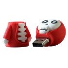 Cartoon God of Death Style USB 2.0 Flash Drive - Red + White (16GB)