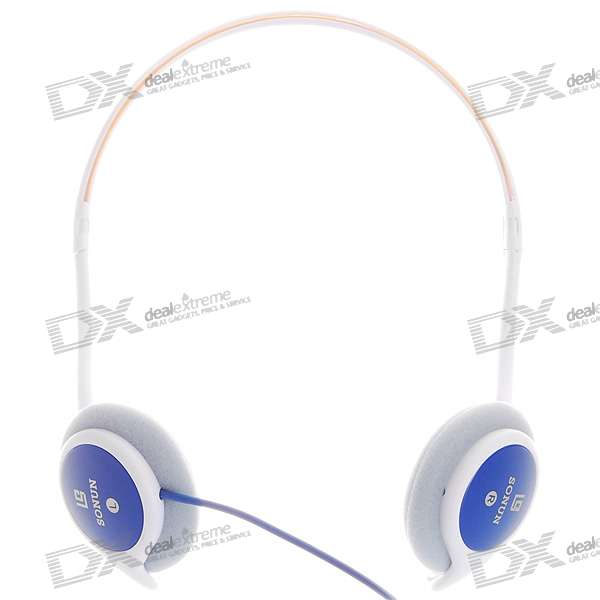 Sonun SN-960V Stereo Headphone with Volume Control (3.5mm Jack/140CM-Cable)