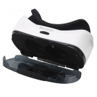 "Universal Virtual Reality 3D Video Glasses w/ Bluetooth Control for 4.7~6"" Smartphone - White"