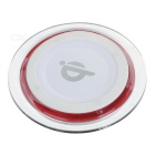 Universal Acrylic Qi Wireless Charger for Samsung, IPHONE, Xiaomi + More - White