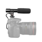 3.5mm Digital Video Professional Stereo Shotgun Recording Microphone for CANON NIKON PENTAX D-SLR