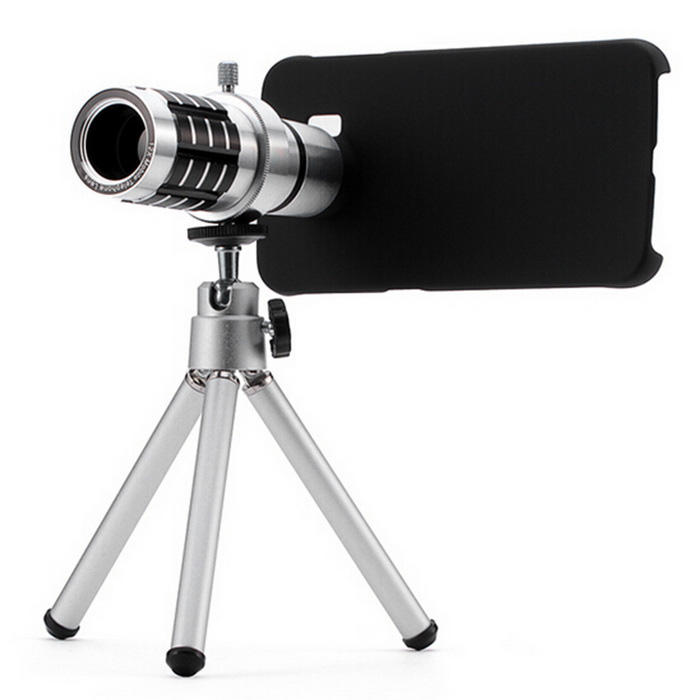 12X Zoom Telephoto Lens Telescope for Samsung S6 Edge - ACU Camouflage