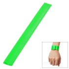 Salzmann Bike Cycling Reflective Safety Trousers Pants Wrist Ankle Tied Band Strap - Green