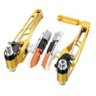 AEST YVB76A-01 Replacement V Brake Set for MTB Mountain Bike - Golden