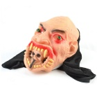 Big Mouth Ghosts Style Rubber Mask for Cosplay Costume Party - Flesh