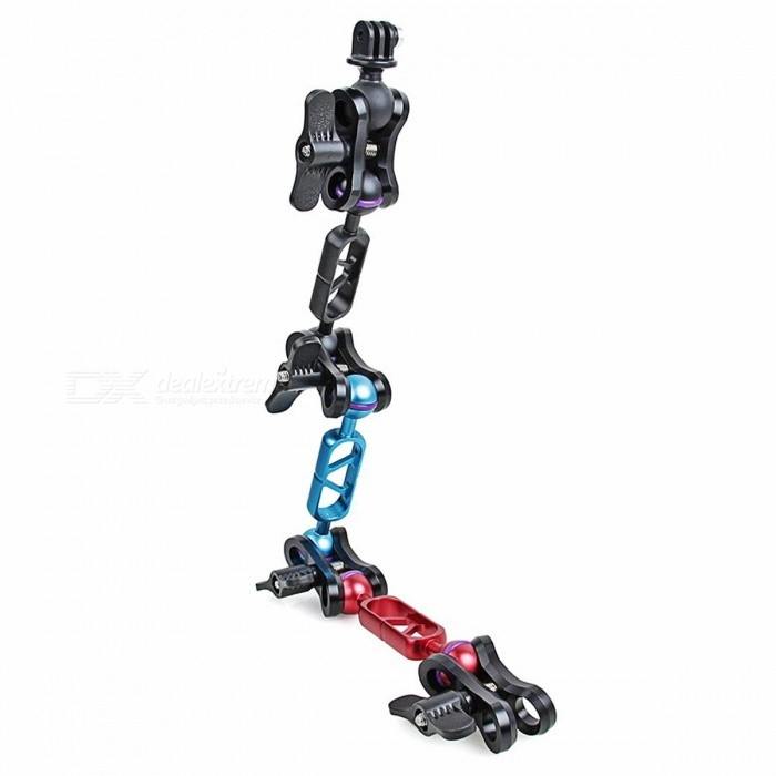 Diving Fill Light Ball Clamp Mounts + Arms Set for GOPRO HERO 4