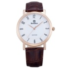 BESTDON BD98102G Men's Fashionable Waterproof Quartz Wrist Watch - Gold + Brown + White (1 x SR621)