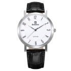 BESTDON BD98102G Men's Fashionable Waterproof Quartz Wrist Watch - Black + Silver + White (1xSR621)