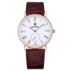BESTDON BD98104G Men's Fashionable Waterproof Quartz Wrist Watch - Gold + Brown + White (1xSR621)