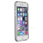 S-What TPU + Aluminum Alloy Back Case for IPHONE 6 / 6S - Grey