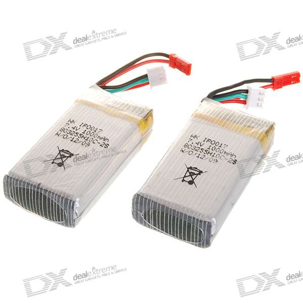 Walkera CB180/180D/180Q-Z-31 7.4V 1000mAh Batteries (2-Pack)