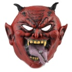 Devil Rubber Mask for Cosplay / Halloween Costume Party - Red