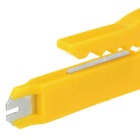 ABS Portable Network Cable Stripper Cutter - Yellow