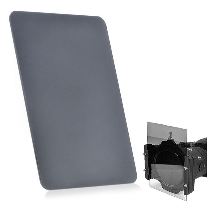 EOSCN 100*150mm Neutral Density ND8 Grey Filter - Greyish Black