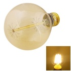 YouOKLight E27 40W Tungsten Filament Bulb Warm White Light 3000K 380lm -Transparent (AC 220~240V)