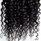 Unprocessed Deep Wave Human Natural Black Hair Extensions (24inch)