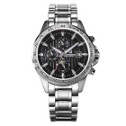 Bestdon 7108G Men's Stainless Steel Band Luminous Pointer Auto-Mechanical Watch w/ Calendar