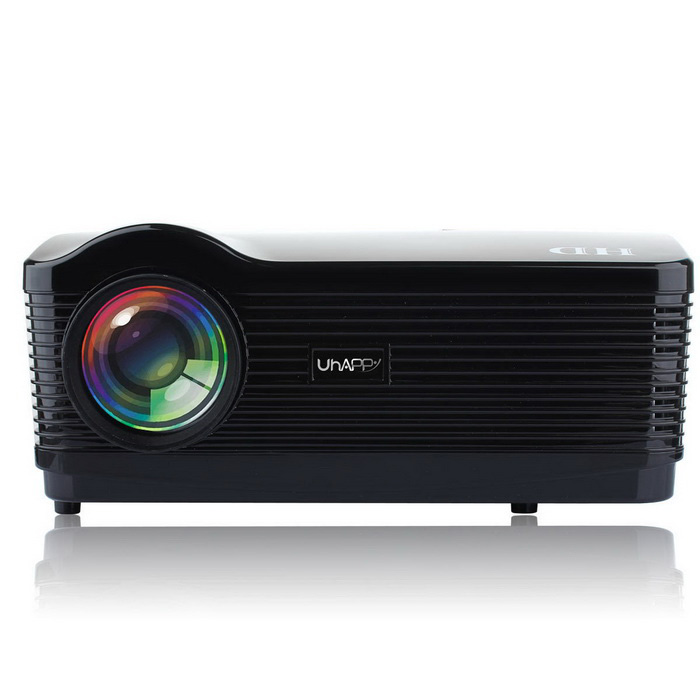 uhappy U2 android 4.4 3000LM LED-projector w / 1080P, hdmi, wi-fi
