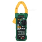 MASTECH MS2115B True RMS Digital AC/DC Clamp Meters Capacitance Frequency Tester USB Interface & NCV