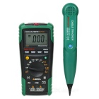 MASTECH MS8236 NCV Auto Ranging DMM Digital Network Multimeter / Lan / Tone / Phone Tester
