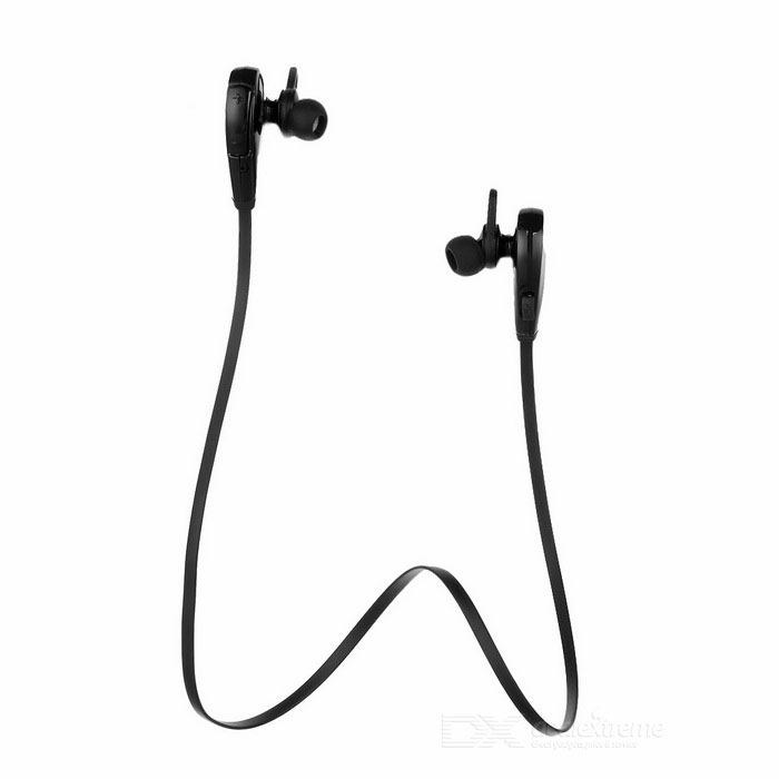 Q7 Sports Bluetooth V4.0 Auriculares In-Ear con micrófono - Negro