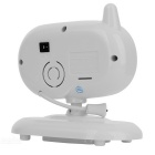"3.5"" 8-LED IR Night Vision Wireless Baby Monitor - White (US Plug)"