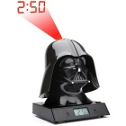 Zeon ZE00540 Star Wars Darth Vader Projection Alarm Clock - Black