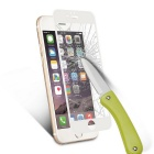 Round Edge Tempered Glass Clear Film for IPHONE 6 & 6S - White