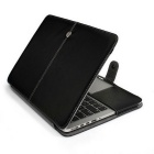 "Cwxuan Protective PU Leather Case for MACBOOK Retina 12"" - Black"