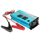 4800PCR 1000W DC 12V to AC 220V Car Smart Power Inverter w/ 4-USB / Dual AC Sockets - Blue
