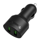 Tronsmart CC2F 36W 2 Port USB Quick Car Charger - Black
