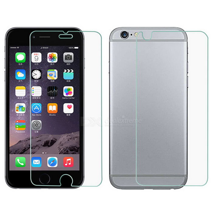 S-What Front + Back Screen Film for IPHONE 6PLUS/6S PLUS - Transparent