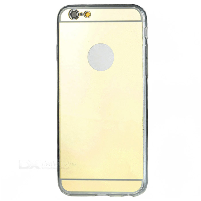 Protective TPU Mirror Back Case Cover for IPHONE 6 / 6S - Golden