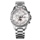 Bestdon 7108G Men's Stainless Steel Band Luminous Pointer Self-Winding Mechanical Watch w/ Calendar