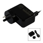 AU Plug Portable Tablet PC Charger for Microsoft Surface 3 - Black