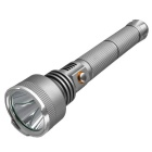 RichFire SF-387 XP-G R5 White Light Flashlight - Light Grey + Silver