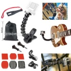 Jaws Flex Clamp Mount Kit + Spanner+More Hot Outdoor Sports Camera Accessories for Gopro Hero Series