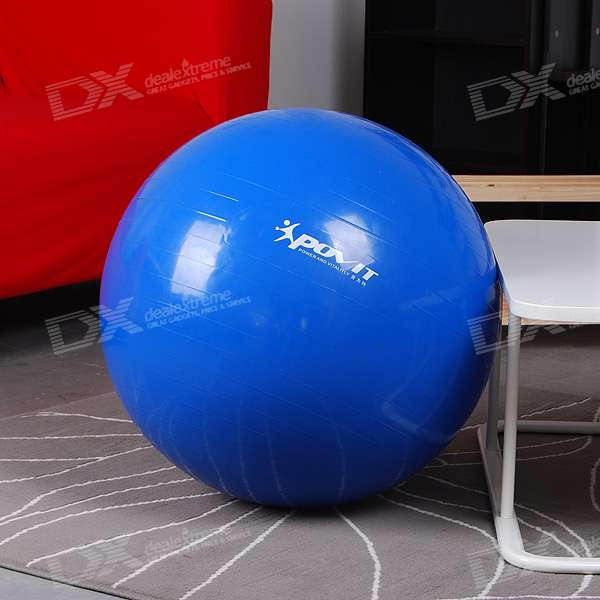 PVC Fitball Yoga Pilates Exercise Ball with Pump (65CM)
