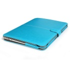 "ASLING Protective PU Leather Case for MACBOOK AIR 11.6"" - Blue"