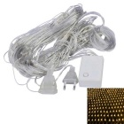 JIAWEN® 1.5x1.5M 96-LED 8-Mode Warm White Light Christmas/Ornamental Net Lights (EU Plug, AC 220V)