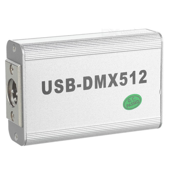 USB LED DMX512 Light Controller + 3D Simulation Light Controller