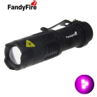 FandyFire IR Infrared LED Flashlight 850nm / 940 Night Vision Camera Fill Light - Black
