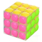 3x3x3 Diamonds Design Educational Magic Rubik's Cube Puzzle Toy - Multi-Color