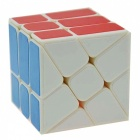 3 * 3 * 3 cubo do rubik da mágica irregular do estilo da roda quente - multi-color
