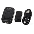 Mini Wireless Car GSM GPS Positioning Tracker - Black
