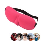 3D Light Isolating Sleeping Eyeshade - Deep Pink