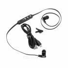 Universal Bluetooth V4.0 In-Ear Earphone w/ Mic - Black