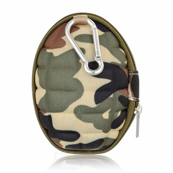 Camera Storage Carrying Case Bag for GoPro Hero 4 Session - Camouflage