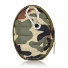 Camera Storage Protective Carrying Case Bag w/ Carabiner for GoPro Hero 4 Session - Camouflage